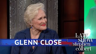 """Stephen and the Oscar-nominated star of 'The Wife,' Glenn Close, act out prompts using only facial expressions in a game called 'Up Close with Glenn Close.'  Subscribe To """"The Late Show"""" Channel HERE: http://bit.ly/ColbertYouTube For more content from """"The Late Show with Stephen Colbert"""", click HERE: http://bit.ly/1AKISnR Watch full episodes of """"The Late Show"""" HERE: http://bit.ly/1Puei40 Like """"The Late Show"""" on Facebook HERE: http://on.fb.me/1df139Y Follow """"The Late Show"""" on Twitter HERE: http://bit.ly/1dMzZzG Follow """"The Late Show"""" on Google+ HERE: http://bit.ly/1JlGgzw Follow """"The Late Show"""" on Instagram HERE: http://bit.ly/29wfREj Follow """"The Late Show"""" on Tumblr HERE: http://bit.ly/29DVvtR  Watch The Late Show with Stephen Colbert weeknights at 11:35 PM ET/10:35 PM CT. Only on CBS.  Get the CBS app for iPhone & iPad! Click HERE: http://bit.ly/12rLxge  Get new episodes of shows you love across devices the next day, stream live TV, and watch full seasons of CBS fan favorites anytime, anywhere with CBS All Access. Try it free! http://bit.ly/1OQA29B  --- The Late Show with Stephen Colbert is the premier late night talk show on CBS, airing at 11:35pm EST, streaming online via CBS All Access, and delivered to the International Space Station on a USB drive taped to a weather balloon. Every night, viewers can expect: Comedy, humor, funny moments, witty interviews, celebrities, famous people, movie stars, bits, humorous celebrities doing bits, funny celebs, big group photos of every star from Hollywood, even the reclusive ones, plus also jokes."""