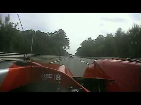 Le Mans 2010 onboard Audi R15+
