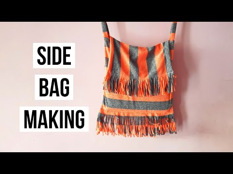 Side bag making, GIFT AND GIFT, GIFT SND ARE, CRAFT, DIY, side bag