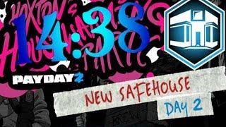 Payday 2 - Safehouse Raid - Solo - Speedrun (14:38)