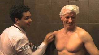 Anderson Cooper and Snooki go Tanning @ Beach Bum Tanning