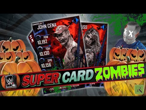 HALLOWEEN EVENT DETAILS & FIRST ZOMBIE CARDS! EVENT CARDS FOR TEAMS!! | WWE SuperCard
