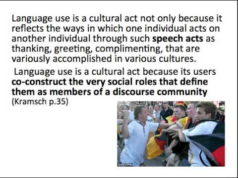 T3 4830 Language, Culture & Sport  Speech Acts and Context
