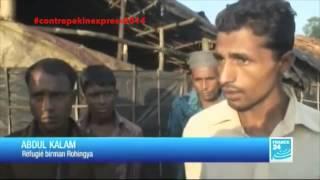 Pékin Express 2014 : A la découverte du génocide des musulmans rohingyas