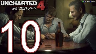 UNCHARTED 4 A Thief's End Walkthrough - Part 10 - Story 7. Lights Out