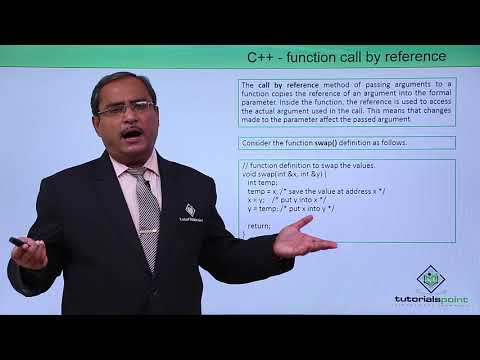 C++ - Function Call By Reference