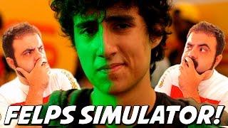 CANSEI DE SER O 3K, AGORA EU SOU O FELPS! – Felps Simulator