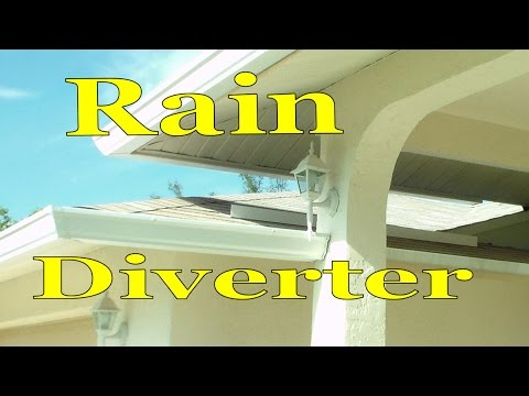 Install Rain Water Diverter In Asphalt Shingle Roof Youtube