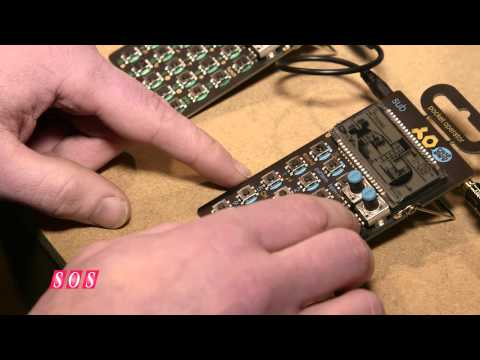 Teenage Engineering Pocket Operators - NAMM 2015