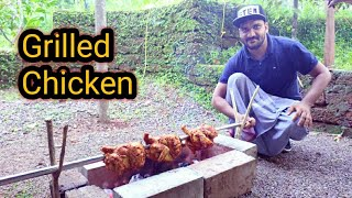 Full Grilled Chicken/Rosted Whole Chicken/Village Style Cooking_ koshi Vlogz