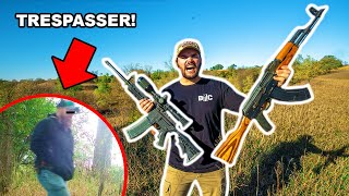 I Caught TRESPASSERS at My FARM!!! (Trail Cam FOOTAGE!)