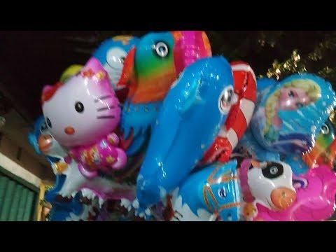 Balon Helium Masha,Upin Ipin,Hello kity,Nemo,Pokemon,Minions dll