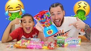 Super Gross Candy Experiment!