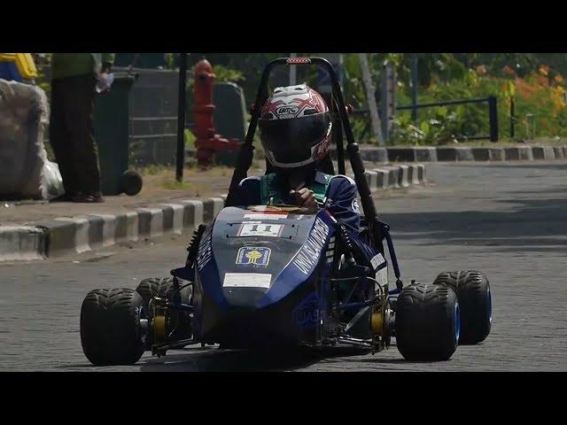 Kecee, Mobil Formula 1 Bertenaga Listrik, Karya Mahasiswa UII Yogyakarta