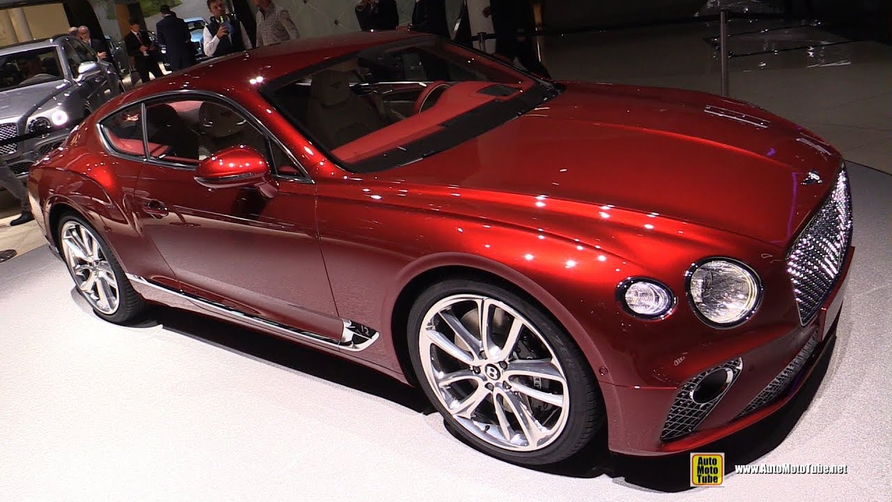2018 Bentley Continental Gt Exterior And Interior Walkaround 2017 Frankfurt Auto Show Youtube
