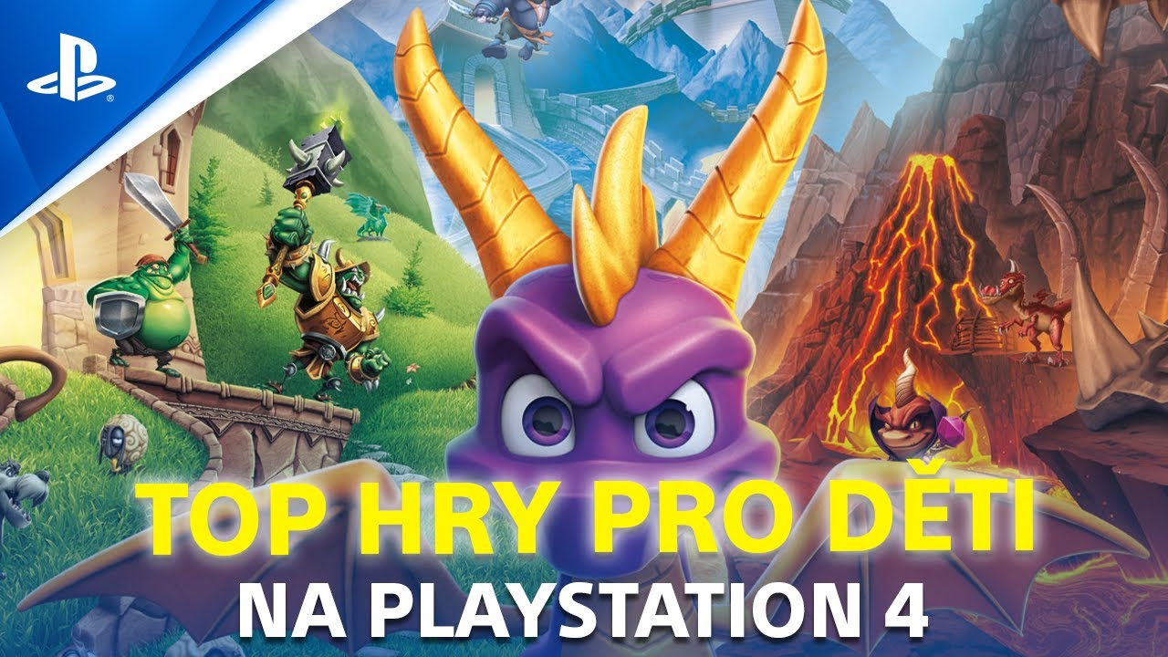 TOP 8 PS4 her PRO DĚTI | Infobox