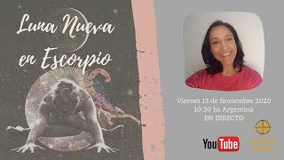 Luna Nueva en Escorpio - Carolina Capmany