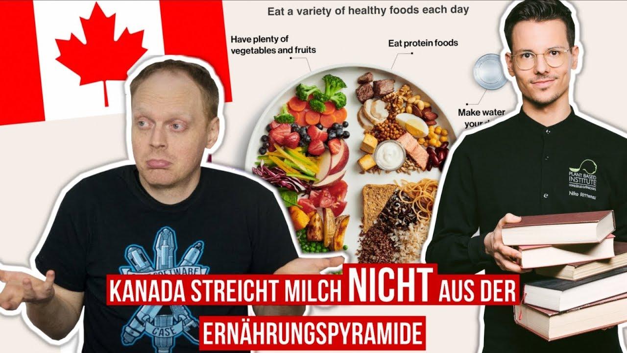 Kanada streicht Milch NICHT aus der Ernährungspyramide (mit Der Artgenosse)