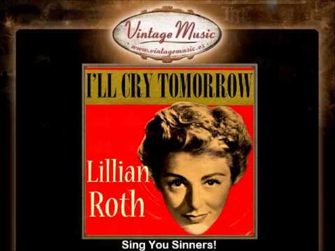 LILIAN ROTH CD Vintage Vocal Jazz. Sing You Sinners!