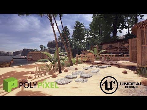 Speed Level Design: Tropical Village UE4