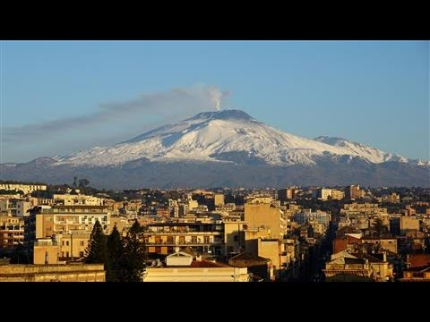 Dramatic Eruptions From Mount Etna, Europe's Largest Volcano