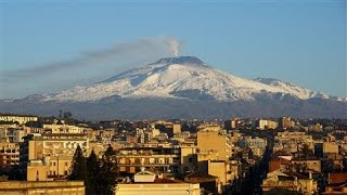 Dramatic Eruptions From Mount Etna, Europe's Largest Volcano Top 10 Video