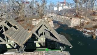 Fallout 4 Как я  ремонтирую крыши