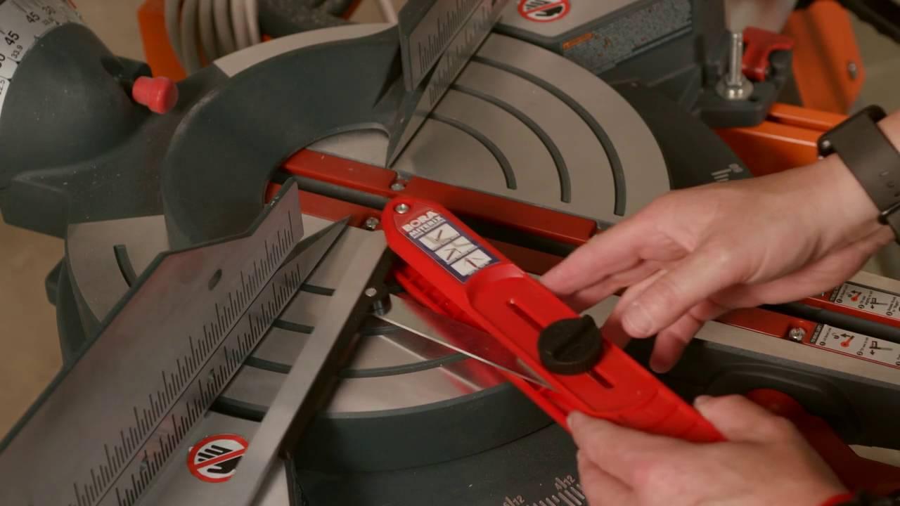 Bora Tools MiterIX Angle Finder - YouTube