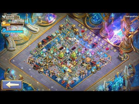 Castle Clash - Cosmic Temple New Background