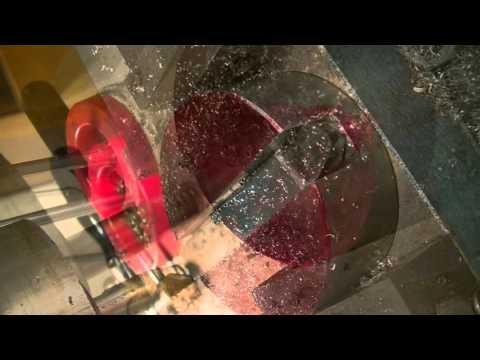 Clock repair tutorial #9. Cutting a fusee for an English Skeleton clock. Part 1.