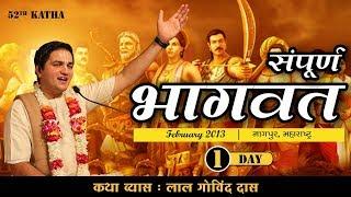 Srimad Bhagwat Katha Iskcon Krishna Nagar ( Nagpur) Day-1