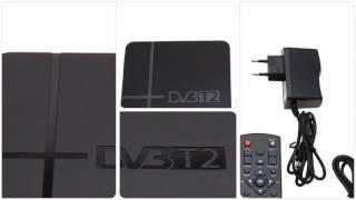 K2 HD DVB-T2 Digital Terrestrial Receiver Set-top Box with Multimedia Player H.264/MPEG-2/4...