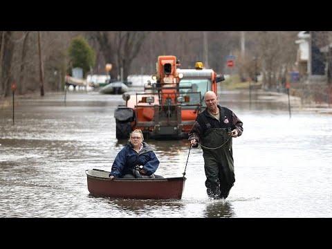 أوتاوا تواجه ارتفاعاً في منسوب المياه بسبب الفيضانات.. وإعلان الطوارئ…  - نشر قبل 11 ساعة
