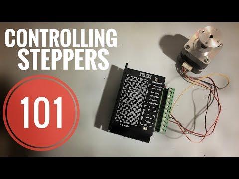 Stepper Motors And Them Drivers - A4988 & TB6600
