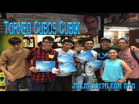 Cubos Cubik Torneo #3 Julio 2017 León / Cube News Online
