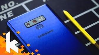 Samsung Note 9 Review - Bestes Gesamtpaket?