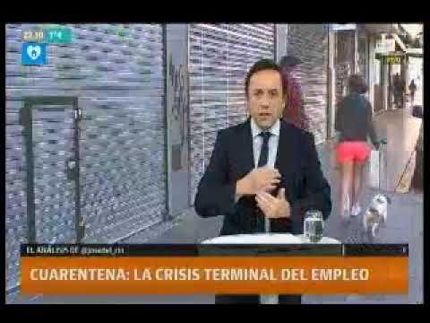 LN + - Crisis en el empleo - Mención a Informe de FECOBA sobre actividad comercial