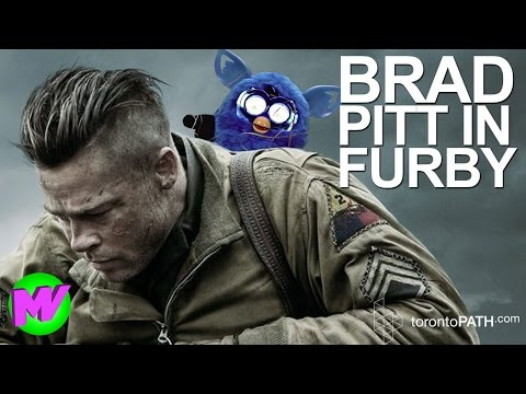 Brad Pitt in 'Furby' - A spoof of the box office hit 'Fury' LIVE at 5:45pm