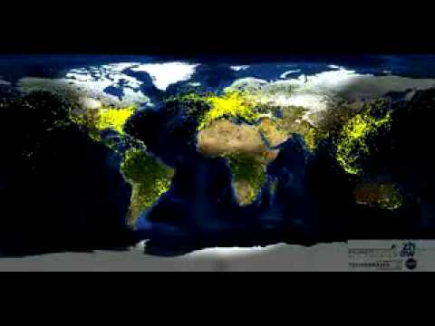 Every Flight on Earth in 72 seconds Classified