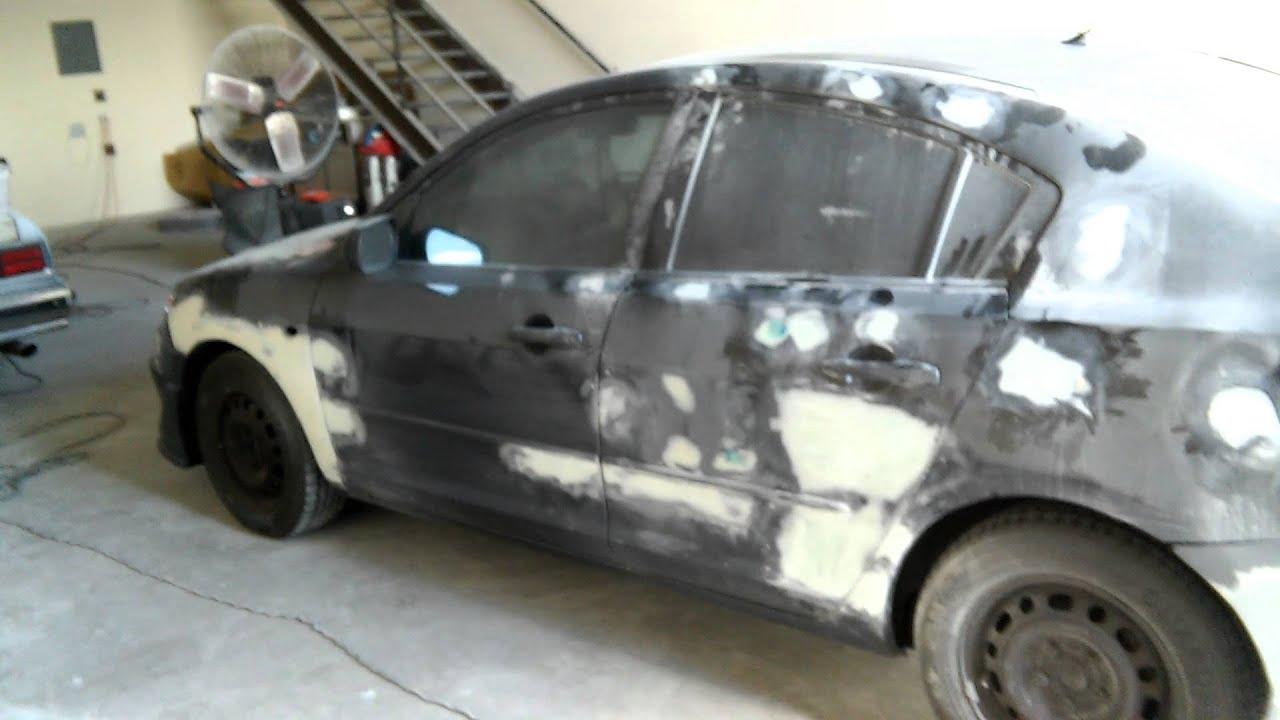 Mazda Fiberglassing And Body Work Stage YouTube - Mazda auto body repair
