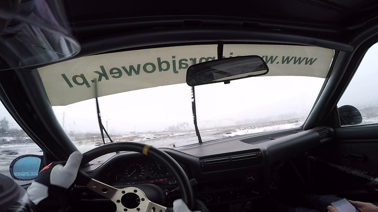 BMW E30 pierwszy raz rajdówką w życiu