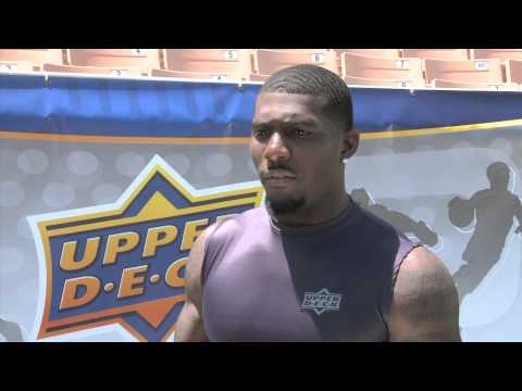Upper Deck Interviews Dez Bryant at the 2010 NFL PLAYERS Rookie Premiere