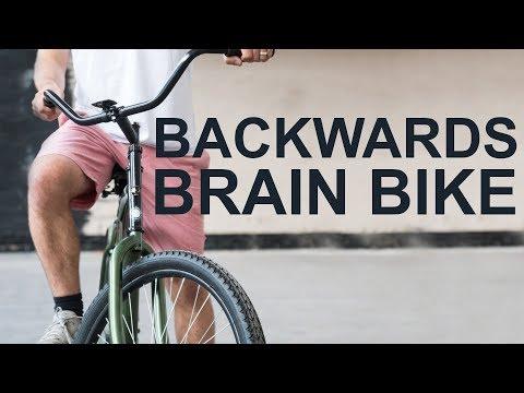 Smarter Every Day Challenge: Learn the Backwards Brain Bike