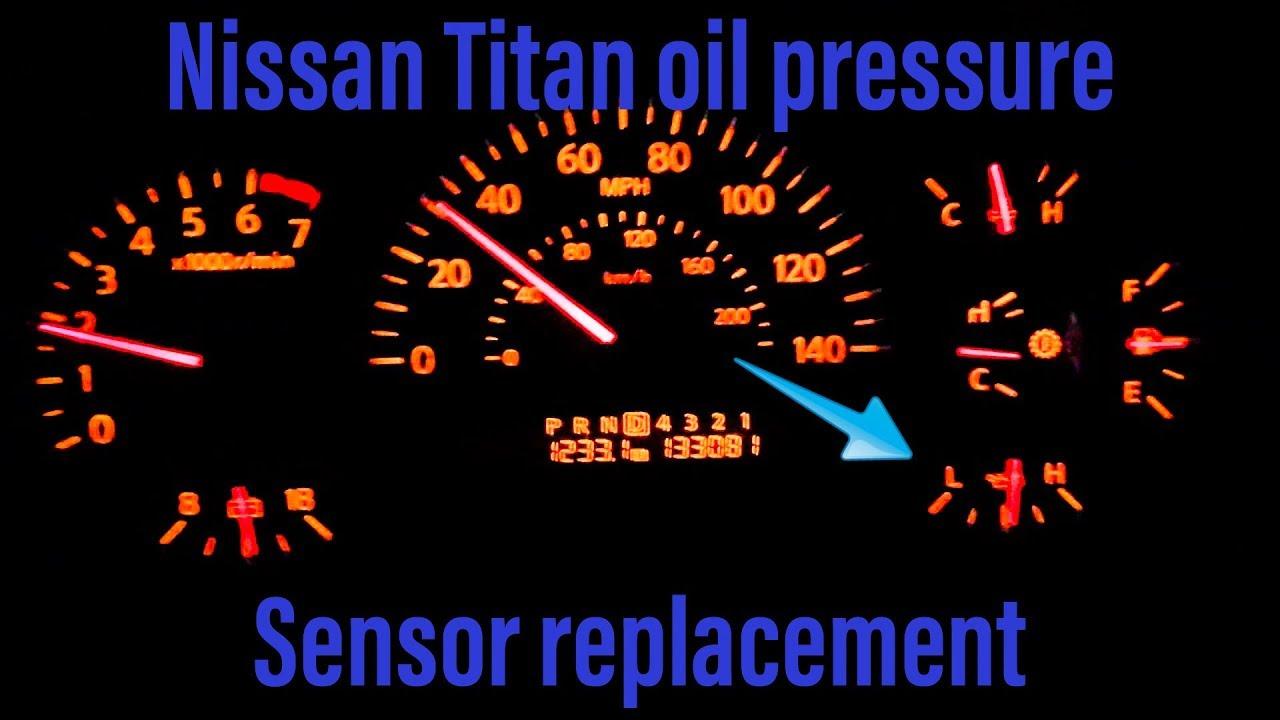 nissan titan oil pressure sensor replacement 2004 2007 [ 1280 x 720 Pixel ]