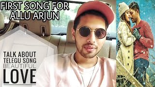 Armaan Malik Talk About New Telugu Song - Beautiful Love || 2018