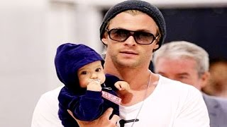 Celebrity Dads With Their Cute Babies