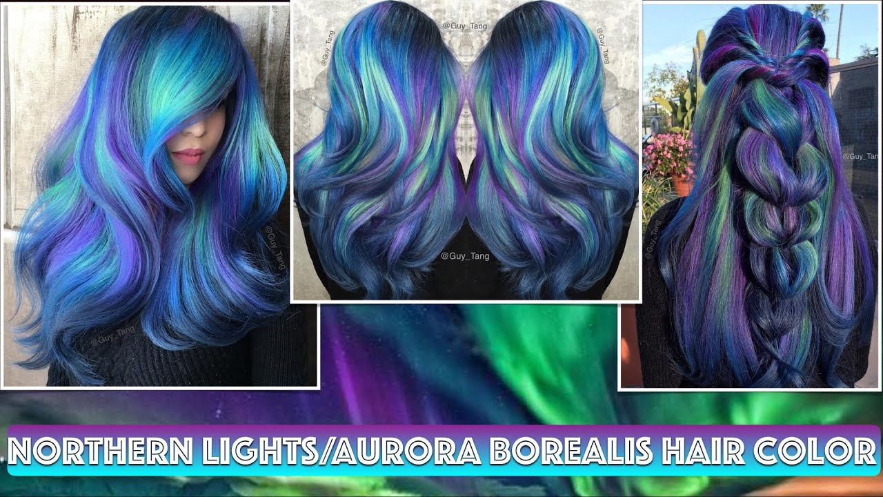 Northern Lightsaurora Borealis Hair Color Youtube