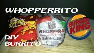 Flamin' Hot Mac 'n Cheetos Whopperrito?! | DIY Burrito