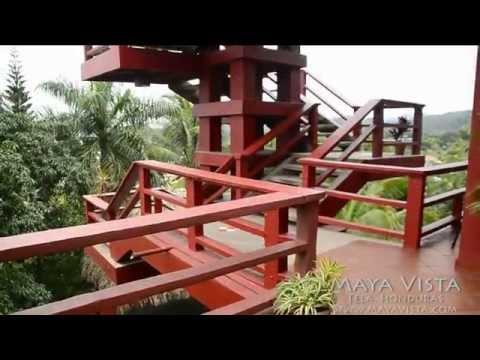 Hotel restaurant maya vista tela honduras youtube for Hotel maya tela