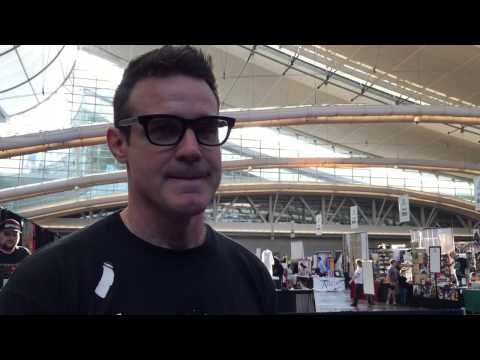 scifivision.com Exclusive  with Eddie McClintock at Wizard World Pittsburgh 2015